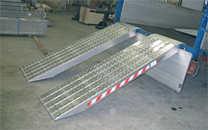 Alu nakladalne klan ine rampe for Rampe da carico usate